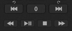 Кнопки управления эфиром