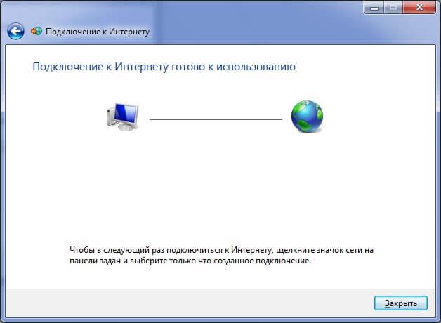 Зображення процесу підключення до мережі