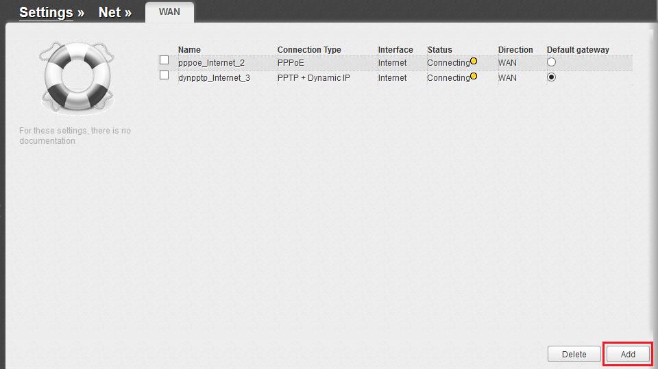Зображення із статті по налаштуванню роутера D-LINK з сірим інтерфейсом