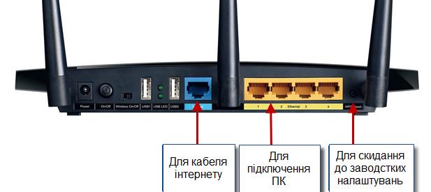Зображення із статті по налаштуванню роутера TP-LINK з сучасним інтерфейсом