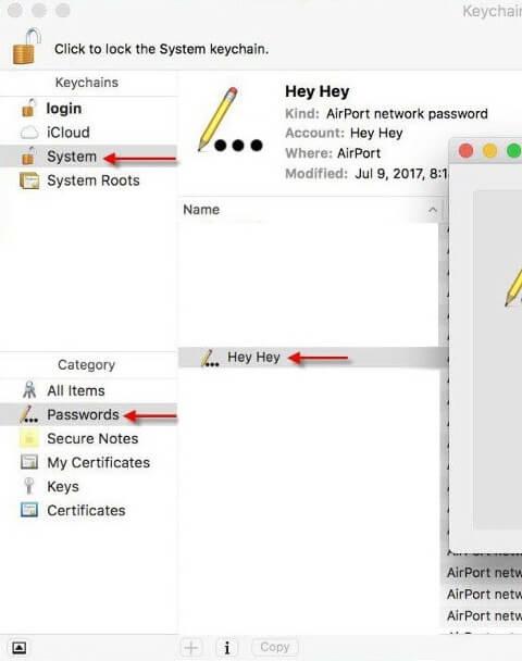 Зображення статті з перевірки паролю wi-fi Mac OS
